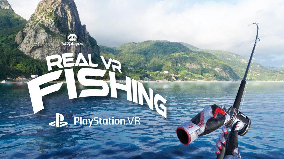Real VR Fishing PSVR PlayStation VR VR4Player