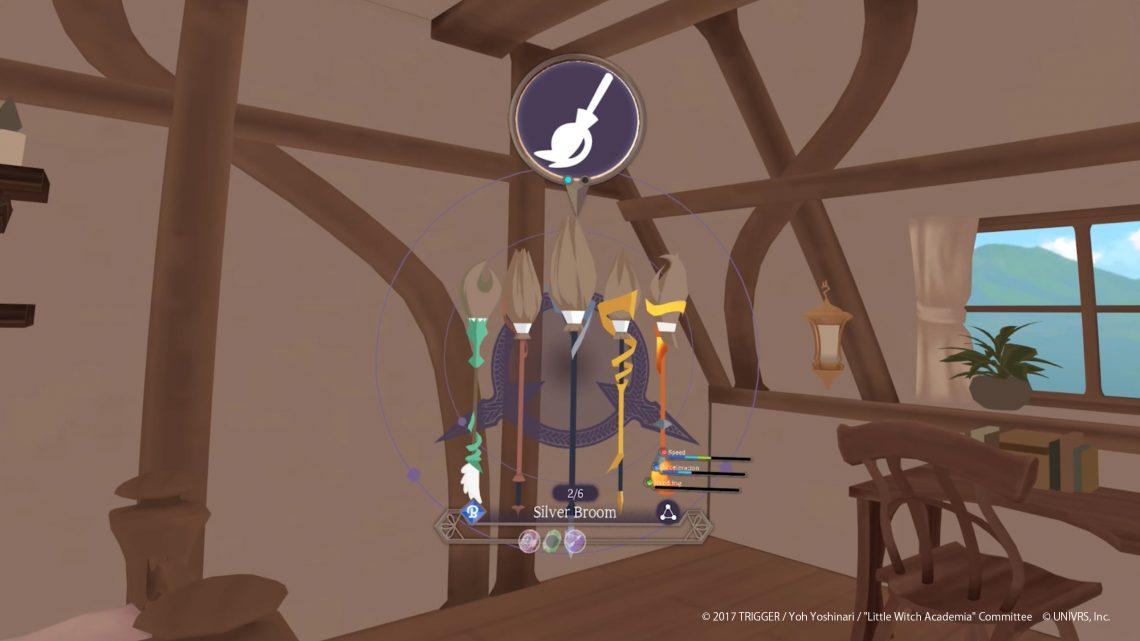 Little Witch Academia : VR Broom Racing UNIVRS. Inc
