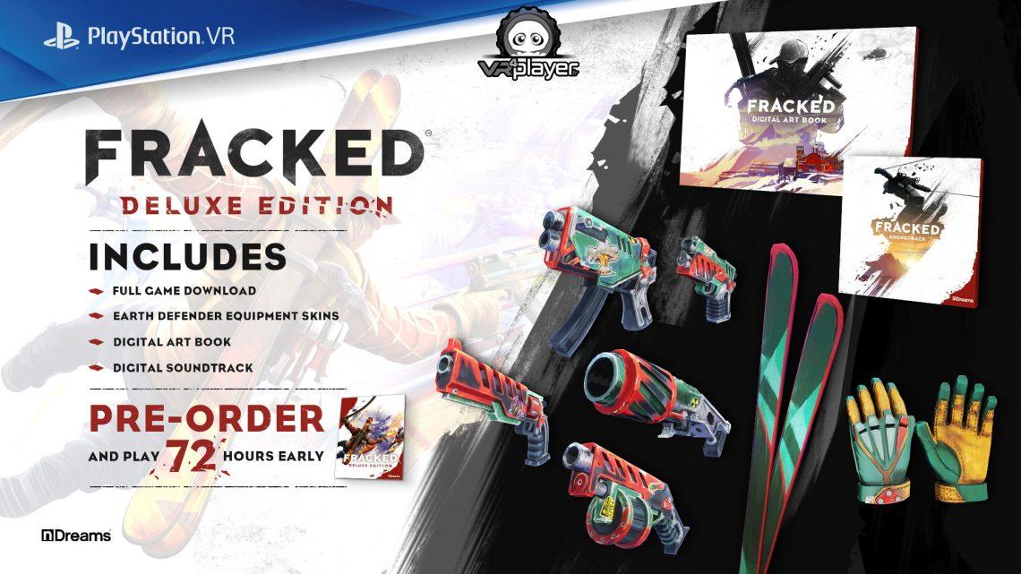 demo de Fracked Ndreams Fracked demo PSVR PS4 PS5