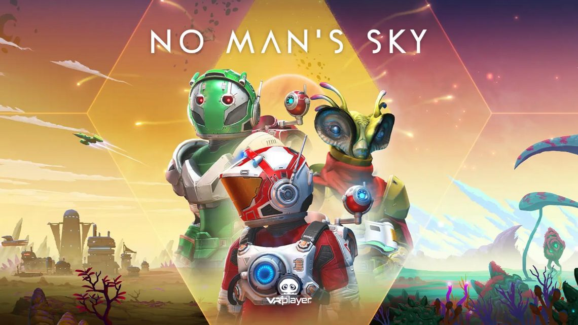 frontiers No Man's Sky Frontiers PSVR PlayStation VR