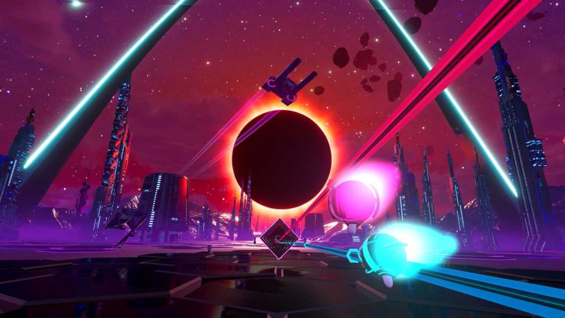 Synth Riders en physique PSVR PS4 PERPGAMES Kluge Interactive
