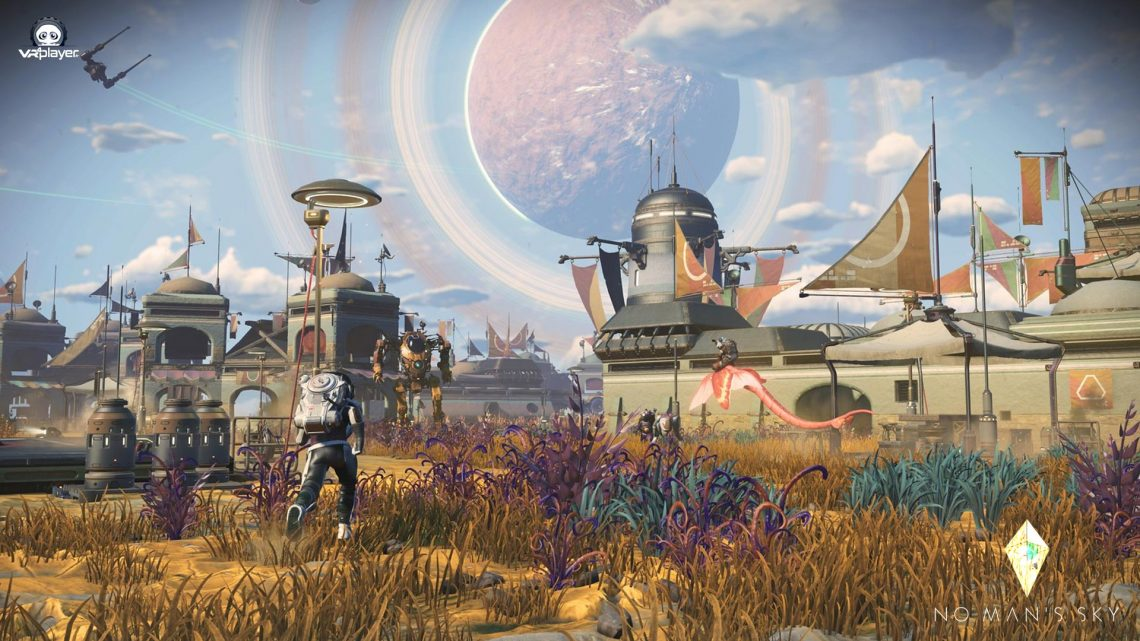 No Man's Sky Frontiers PSVR PlayStation VR