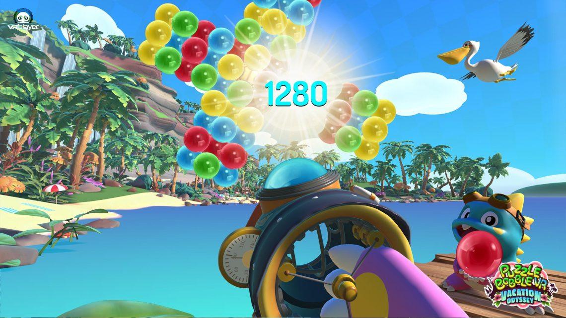 Puzzle Bobble 3D PSVR PlayStation VR PS5 PS4 VR4Player