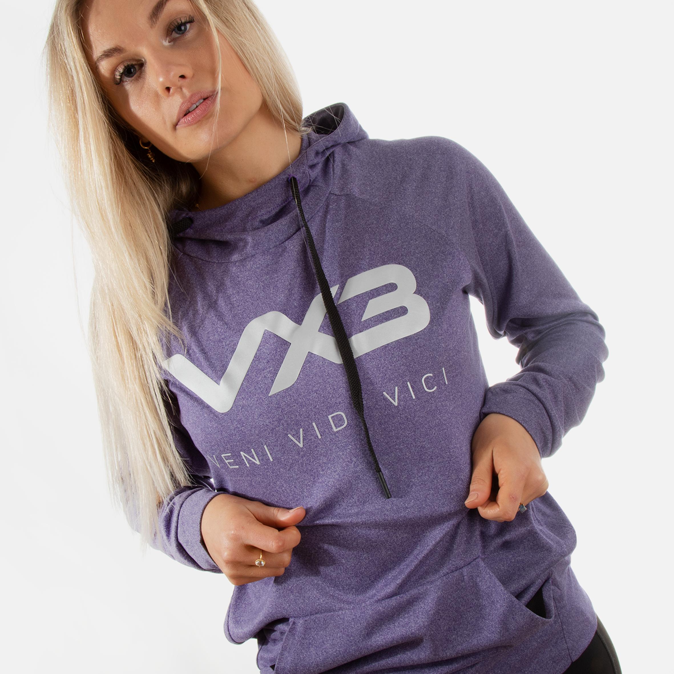 Invicta Hood Purple Heather