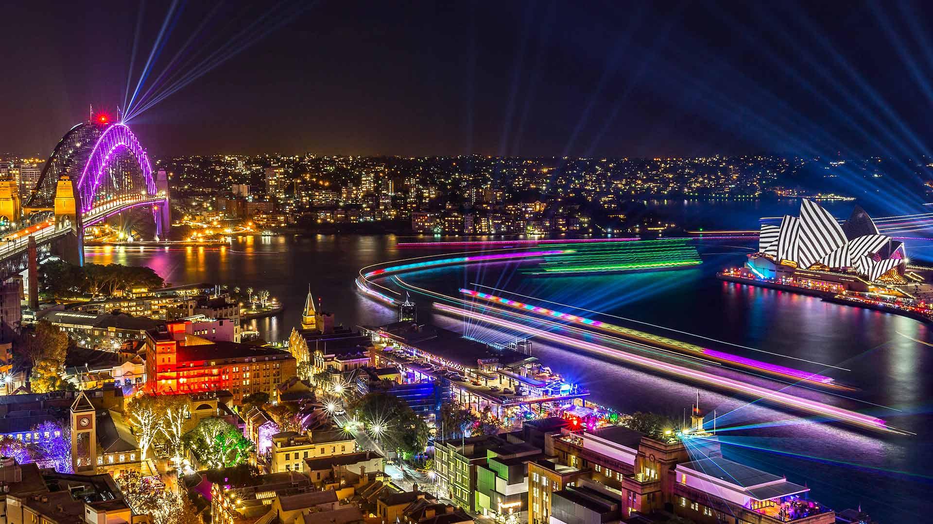 vivid sydney 2019 time - HD1920×1080