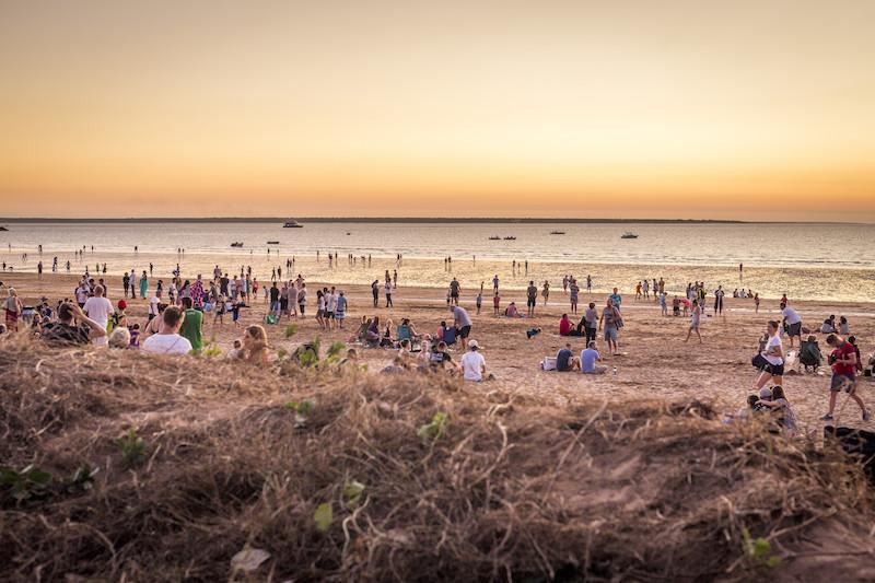 Travel Northern Territory, Mindil Beach
