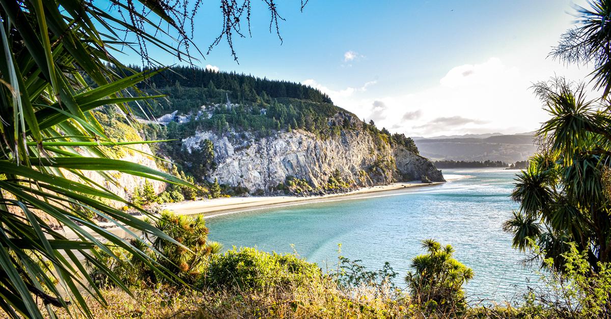 Canoe beach views, Dunedin, Otago NZ