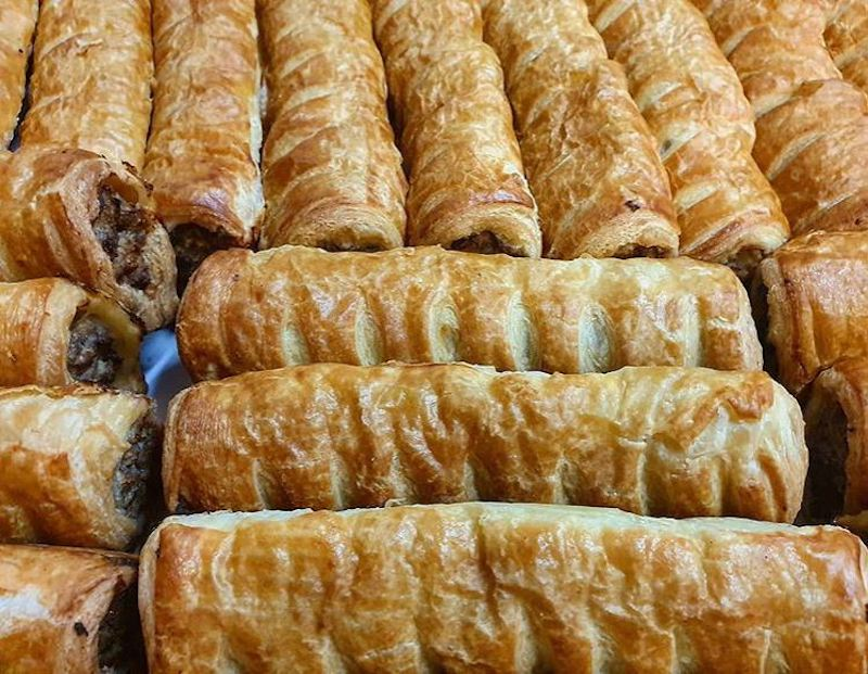 Johnny Ripe sausage rolls