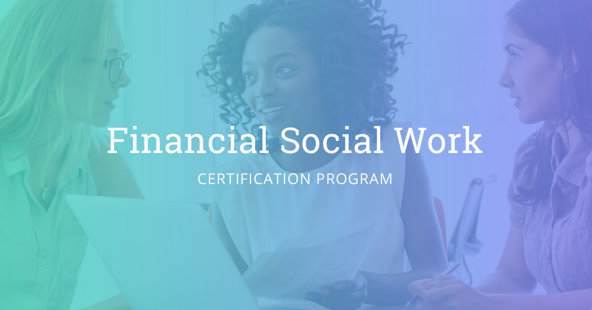 Financial Social Work Certification | Financial Social Work