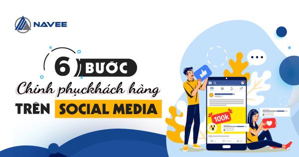 """Featured image for """"6 Bước xây dựng Content Marketing trên Social Media chinh phục khách hàng"""""""