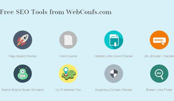 WebConfs cung cấp miễn phí rất nhiều công cụ hỗ trợ tối ưu SEO.