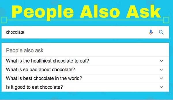 Google's People Also Ask giúp cung cấp nhiều thông tin về các câu hỏi liên quan.