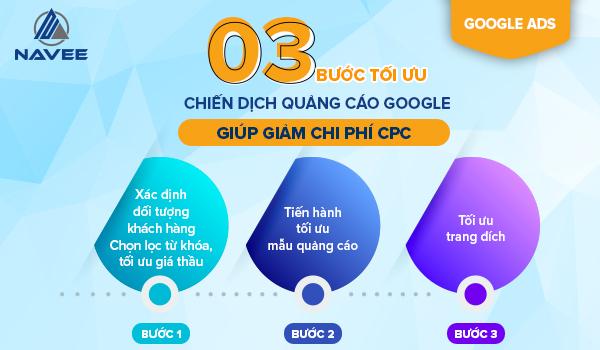 3 Bước Tối Ưu Chiến Dịch Quảng Cáo Google Ads Giúp Giảm Phí CPC