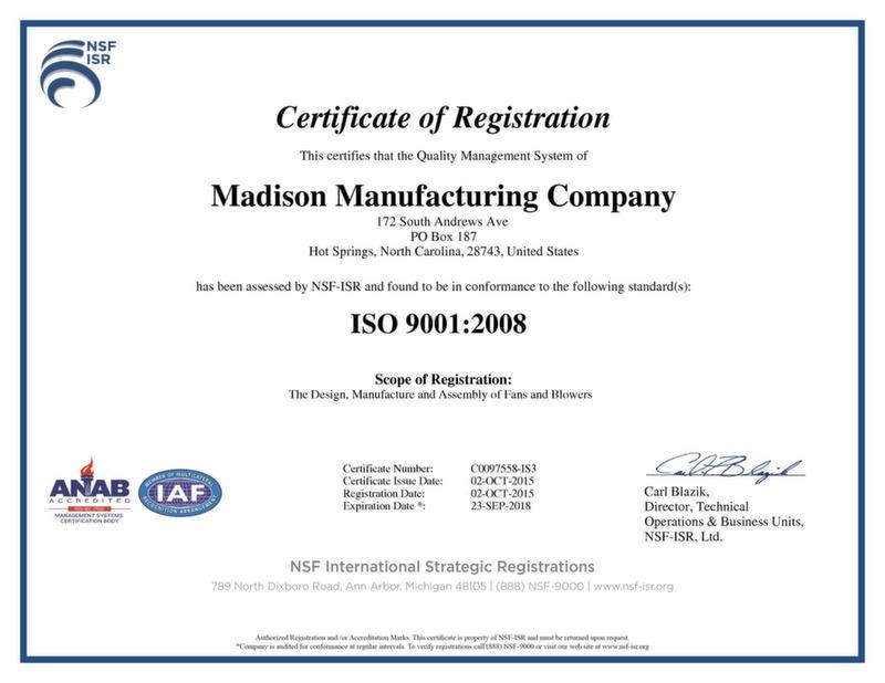 MMC ISO 9001:2008 certificates