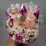 Pink Ice Angel Corsage