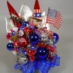 Vintage Uncle Sam Democrat Corsage - SOLD