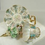 Seafoam tea cup gift set