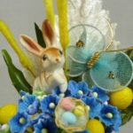 Blue and Yellow Bunny Gift Set