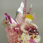 Pink Christmas in my Heart Corsage