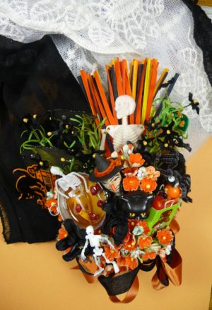 Halloween Party Vintage Corsage