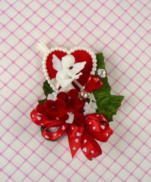 Valentine's Day Mini Cupid Corsage