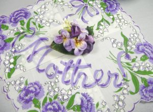 Mothers Day Hankie and Mini Corsage