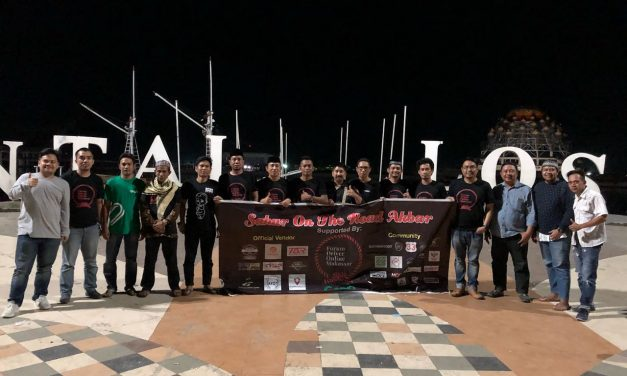 25 Komunitas Forum Driver Online Makassar Gelar Sahur On The Road