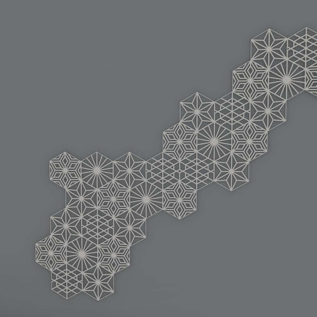 Composição Geométrica de Parede - 4 peças de decoração de parede, com tamanhos de 13x15cm, impressos todos no plano sem suporte  - Os melhores arquivos para impressão 3D do mundo. Modelos stl divididos em partes para facilitar a impressão 3D. Todos os tipos de personagens, decoração, cosplay, próteses, peças. Qualidade na impressão 3D. Modelos 3D com preço acessível. Baixo custo. Compras coletivas de arquivos 3D.