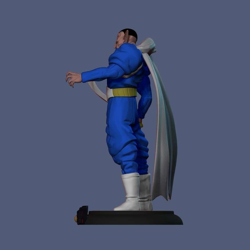 Dabura - Dabra DBZ - Dabura de Dragon Ball Z  - Os melhores arquivos para impressão 3D do mundo. Modelos stl divididos em partes para facilitar a impressão 3D. Todos os tipos de personagens, decoração, cosplay, próteses, peças. Qualidade na impressão 3D. Modelos 3D com preço acessível. Baixo custo. Compras coletivas de arquivos 3D.