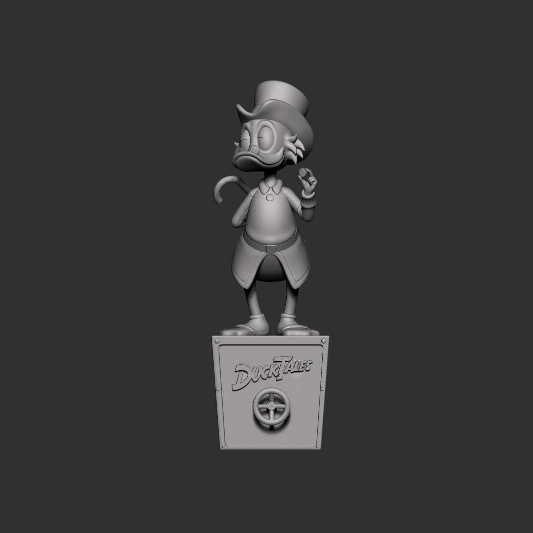 Uncle Scrooge - File ready for printing 08 STL files ready for printing Model cut and prepared with plug-in pins for printing Height: 15cm - Los mejores archivos para impresión 3D del mundo. Modelos Stl divididos en partes para facilitar la impresión 3D. Todo tipo de personajes, decoración, cosplay, prótesis, piezas. Calidad en impresión 3D. Modelos 3D asequibles. Bajo costo. Compras colectivas de archivos 3D.