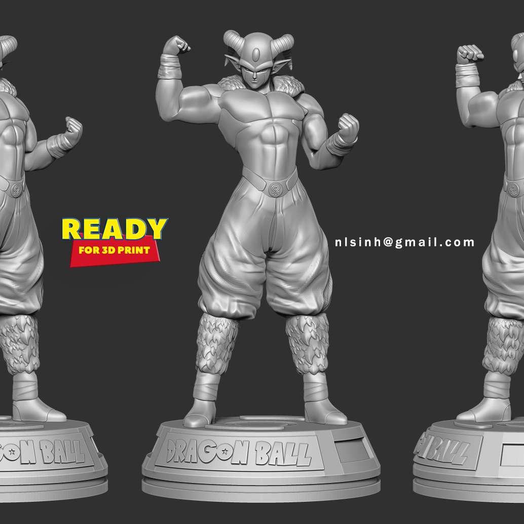 "Moro - Dragon Ball Super - Moro (モロ Moro), known as ""Planet-Eater Moro"" or ""Moro, Consumer of Worlds"" (星喰いのモロ Hoshikui no Moro), is a powerful wizard who threatened Universe 7 about ten million years ago. He is the main antagonist of the Galactic Patrol Prisoner Saga. - quoted from https://dragonball.fandom.com/wiki/Moro  When you purchase this model, you will own:  **- STL, OBJ file with 08 separated files (with key to connect together) is ready for 3D printing.**  **- Zbrush original files (ZTL) for you to customize as you like.**  _This is version 1.0 of this model._  Hope you like him. Thanks for viewing! - Os melhores arquivos para impressão 3D do mundo. Modelos stl divididos em partes para facilitar a impressão 3D. Todos os tipos de personagens, decoração, cosplay, próteses, peças. Qualidade na impressão 3D. Modelos 3D com preço acessível. Baixo custo. Compras coletivas de arquivos 3D."