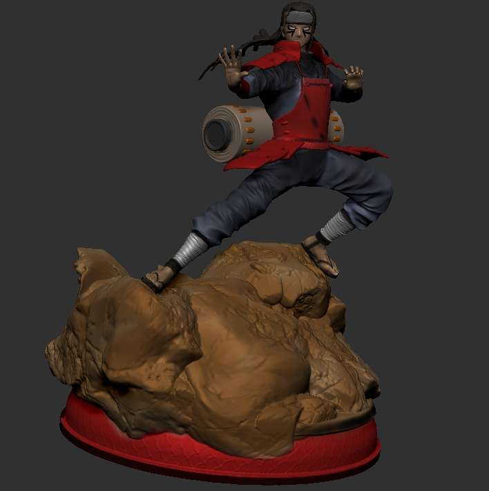 Hashirama  - Modelo Hashirama do anime Naruto. 2 Opções de cabeça   WhatsApp contato 47 992553724 - The best files for 3D printing in the world. Stl models divided into parts to facilitate 3D printing. All kinds of characters, decoration, cosplay, prosthetics, pieces. Quality in 3D printing. Affordable 3D models. Low cost. Collective purchases of 3D files.