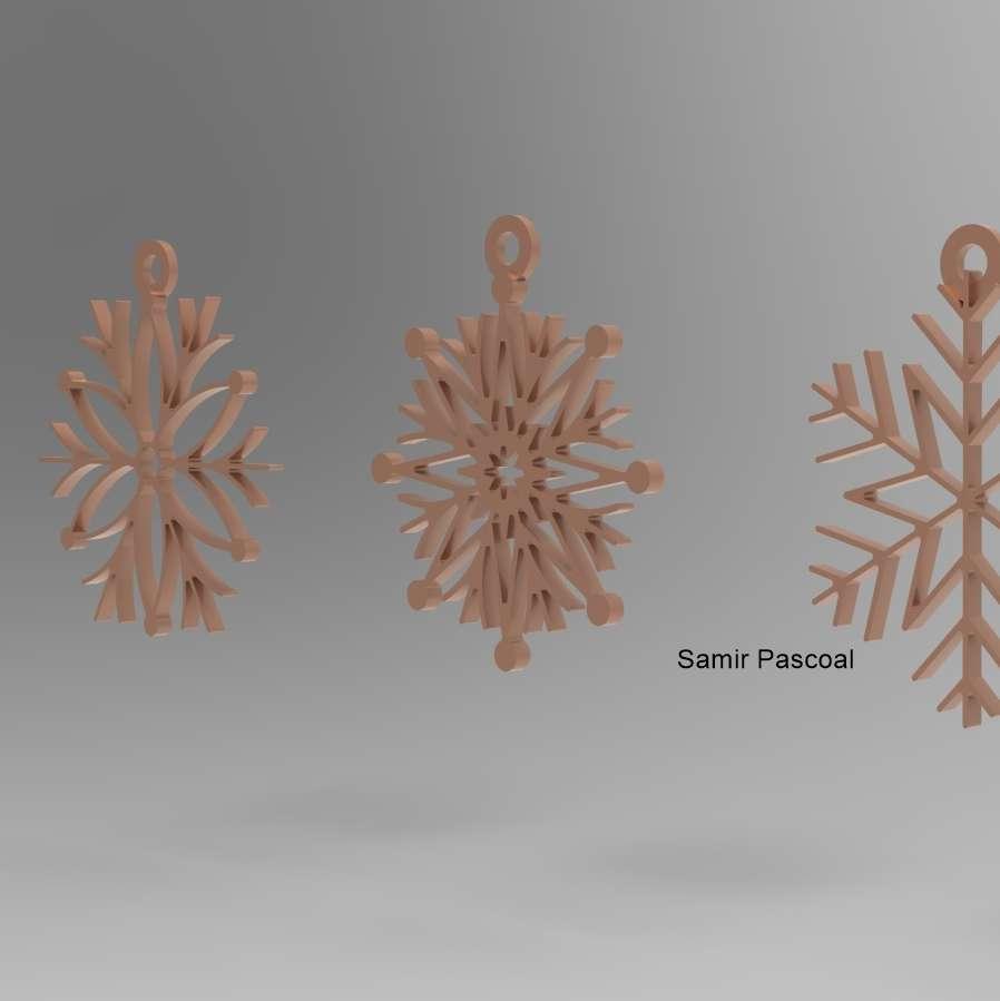 Bolinhas de natal 2 - 4 modelos de bolinhas de natal impressos todos no plano sem suporte - Os melhores arquivos para impressão 3D do mundo. Modelos stl divididos em partes para facilitar a impressão 3D. Todos os tipos de personagens, decoração, cosplay, próteses, peças. Qualidade na impressão 3D. Modelos 3D com preço acessível. Baixo custo. Compras coletivas de arquivos 3D.