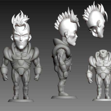 Andróide 16 - cut on the head - Los mejores archivos para impresión 3D del mundo. Modelos Stl divididos en partes para facilitar la impresión 3D. Todo tipo de personajes, decoración, cosplay, prótesis, piezas. Calidad en impresión 3D. Modelos 3D asequibles. Bajo costo. Compras colectivas de archivos 3D.