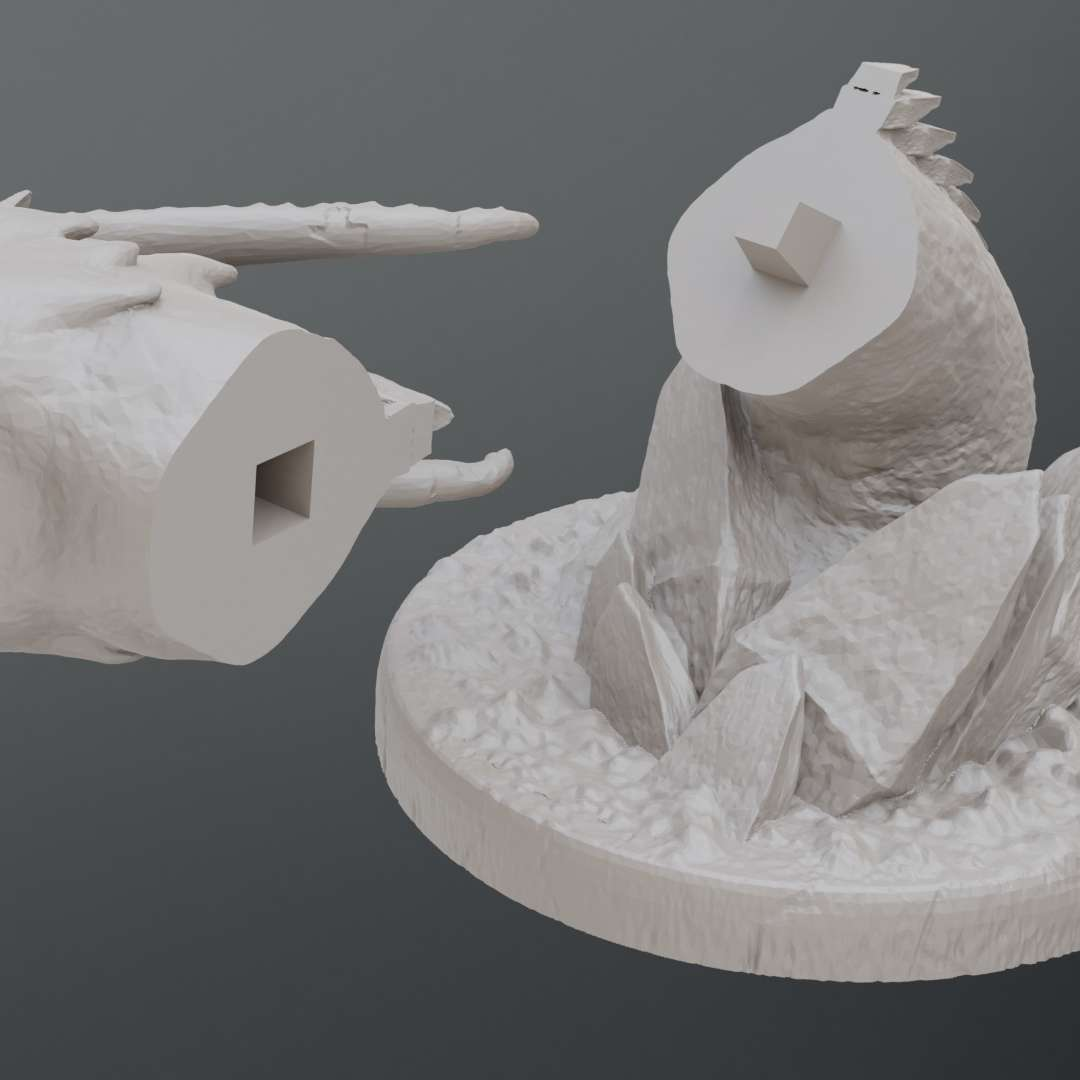 Dragon - For more follow me on instagram https://www.instagram.com/z3art3d/ - The best files for 3D printing in the world. Stl models divided into parts to facilitate 3D printing. All kinds of characters, decoration, cosplay, prosthetics, pieces. Quality in 3D printing. Affordable 3D models. Low cost. Collective purchases of 3D files.