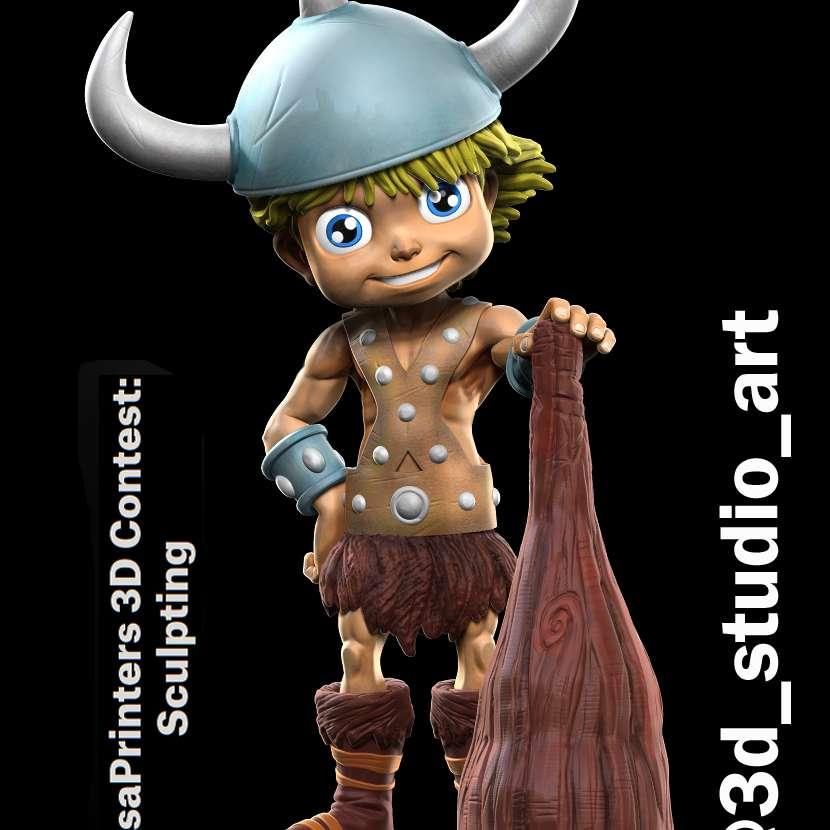 Bob -  Cartoon Bob D&D model - Os melhores arquivos para impressão 3D do mundo. Modelos stl divididos em partes para facilitar a impressão 3D. Todos os tipos de personagens, decoração, cosplay, próteses, peças. Qualidade na impressão 3D. Modelos 3D com preço acessível. Baixo custo. Compras coletivas de arquivos 3D.