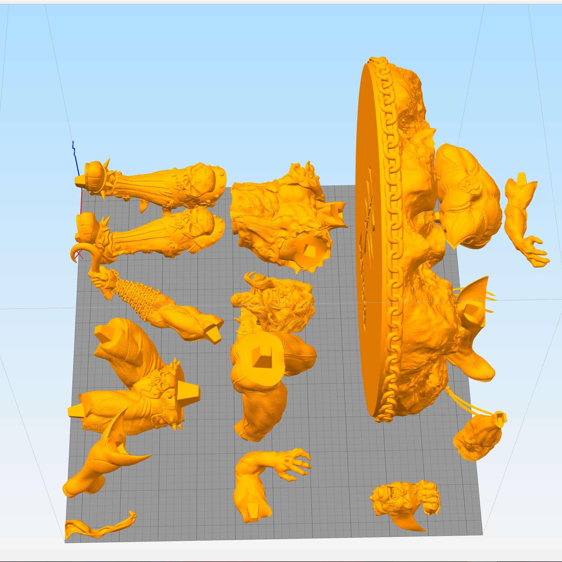 Lobo, The Main Man - Lobo, The Main Man That story of Marvel vs. DC was unfair, Lobo wins Wolverine without discussion! - Os melhores arquivos para impressão 3D do mundo. Modelos stl divididos em partes para facilitar a impressão 3D. Todos os tipos de personagens, decoração, cosplay, próteses, peças. Qualidade na impressão 3D. Modelos 3D com preço acessível. Baixo custo. Compras coletivas de arquivos 3D.
