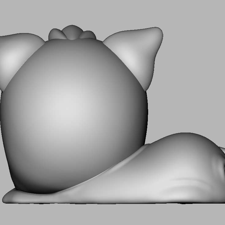 Gatinho fofo - Modelo 3d de um gatinho fofo. Vai ficar lindo na decoração. Impressão sem suportes.  3d model of a cute kitten. It will look beautiful in the decoration. Unsupported printing. - The best files for 3D printing in the world. Stl models divided into parts to facilitate 3D printing. All kinds of characters, decoration, cosplay, prosthetics, pieces. Quality in 3D printing. Affordable 3D models. Low cost. Collective purchases of 3D files.