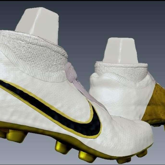 football boots - football boots for 3d printing - The best files for 3D printing in the world. Stl models divided into parts to facilitate 3D printing. All kinds of characters, decoration, cosplay, prosthetics, pieces. Quality in 3D printing. Affordable 3D models. Low cost. Collective purchases of 3D files.