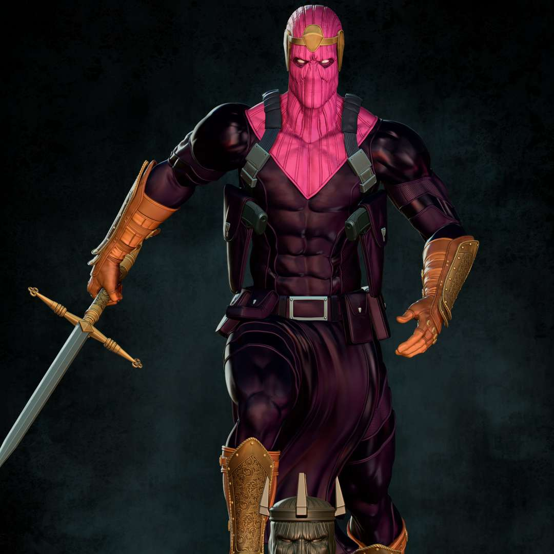 BARON ZEMO - BARON HELMUT ZEMO: The Master of Evil This is another one of my personal projects for the collectible sculptures market, this time another villain from our dear Captain America. Baron Helmut Zemo is the current villain of the American hero, being 13th of that lineage, but this rivalry comes from his father Heinrich Zemo, the Nazi baron who faced Captain America during World War II. Since then Helmut has devoted himself to evil in search of revenge against Steve Rogers and consequently against the Avengers. - The best files for 3D printing in the world. Stl models divided into parts to facilitate 3D printing. All kinds of characters, decoration, cosplay, prosthetics, pieces. Quality in 3D printing. Affordable 3D models. Low cost. Collective purchases of 3D files.