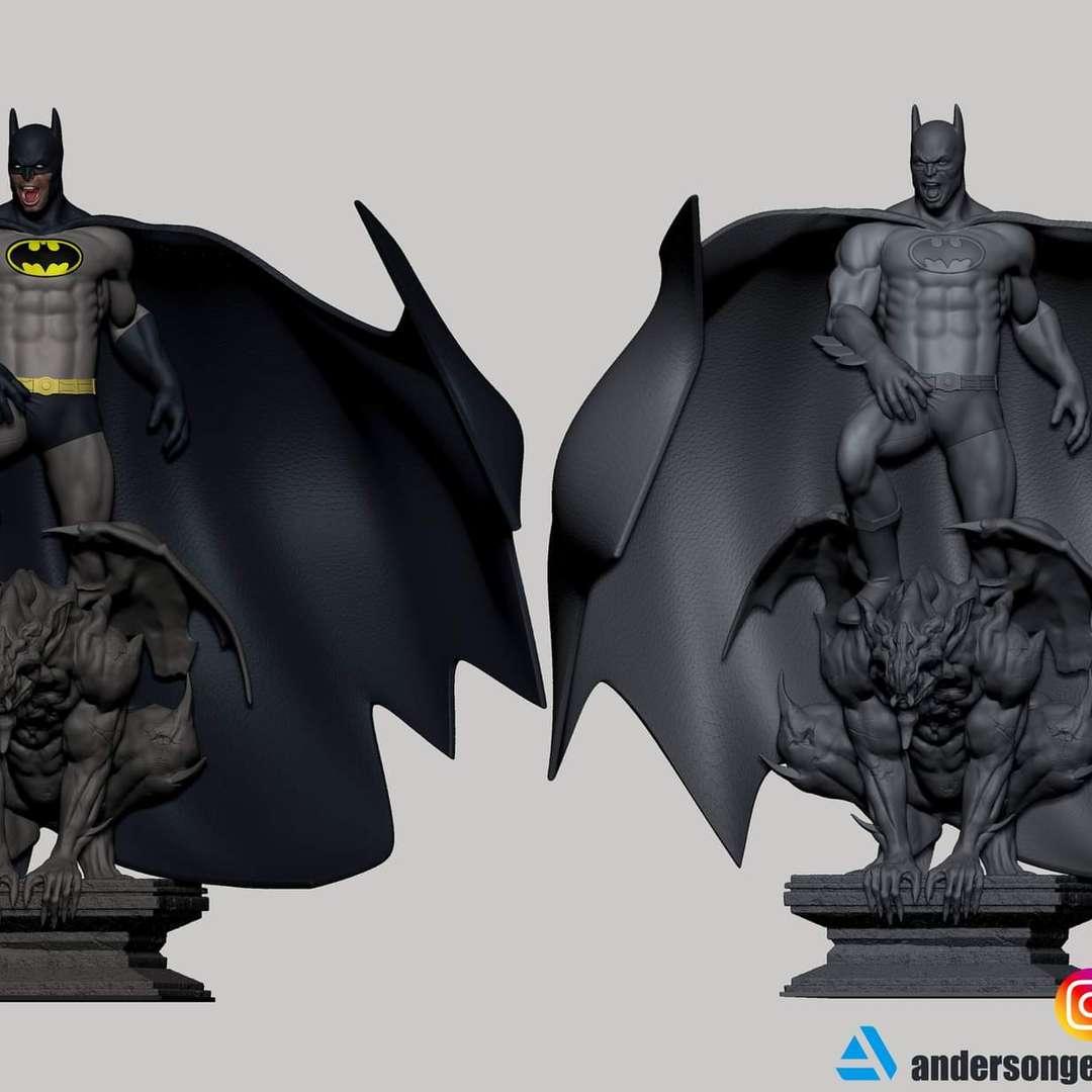 Batman Detective Comics # 1027 Fan Art (DC Comics) - model being prepared for cutting - Los mejores archivos para impresión 3D del mundo. Modelos Stl divididos en partes para facilitar la impresión 3D. Todo tipo de personajes, decoración, cosplay, prótesis, piezas. Calidad en impresión 3D. Modelos 3D asequibles. Bajo costo. Compras colectivas de archivos 3D.