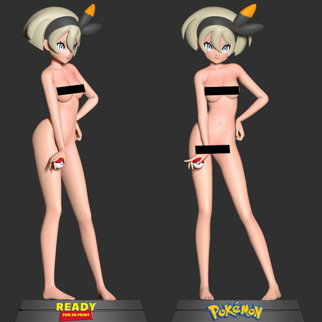 Bea - Pokemon - If someone doesn't like this version then I apologize.  When you purchase this model, you will own:  - STL, OBJ file with 04 separated files (with key to connect together) is ready for 3D printing.  - Zbrush original files (ZTL) for you to customize as you like. (DM me ì you want)  This is version 1.0 of this model.  Thanks for viewing! - Os melhores arquivos para impressão 3D do mundo. Modelos stl divididos em partes para facilitar a impressão 3D. Todos os tipos de personagens, decoração, cosplay, próteses, peças. Qualidade na impressão 3D. Modelos 3D com preço acessível. Baixo custo. Compras coletivas de arquivos 3D.
