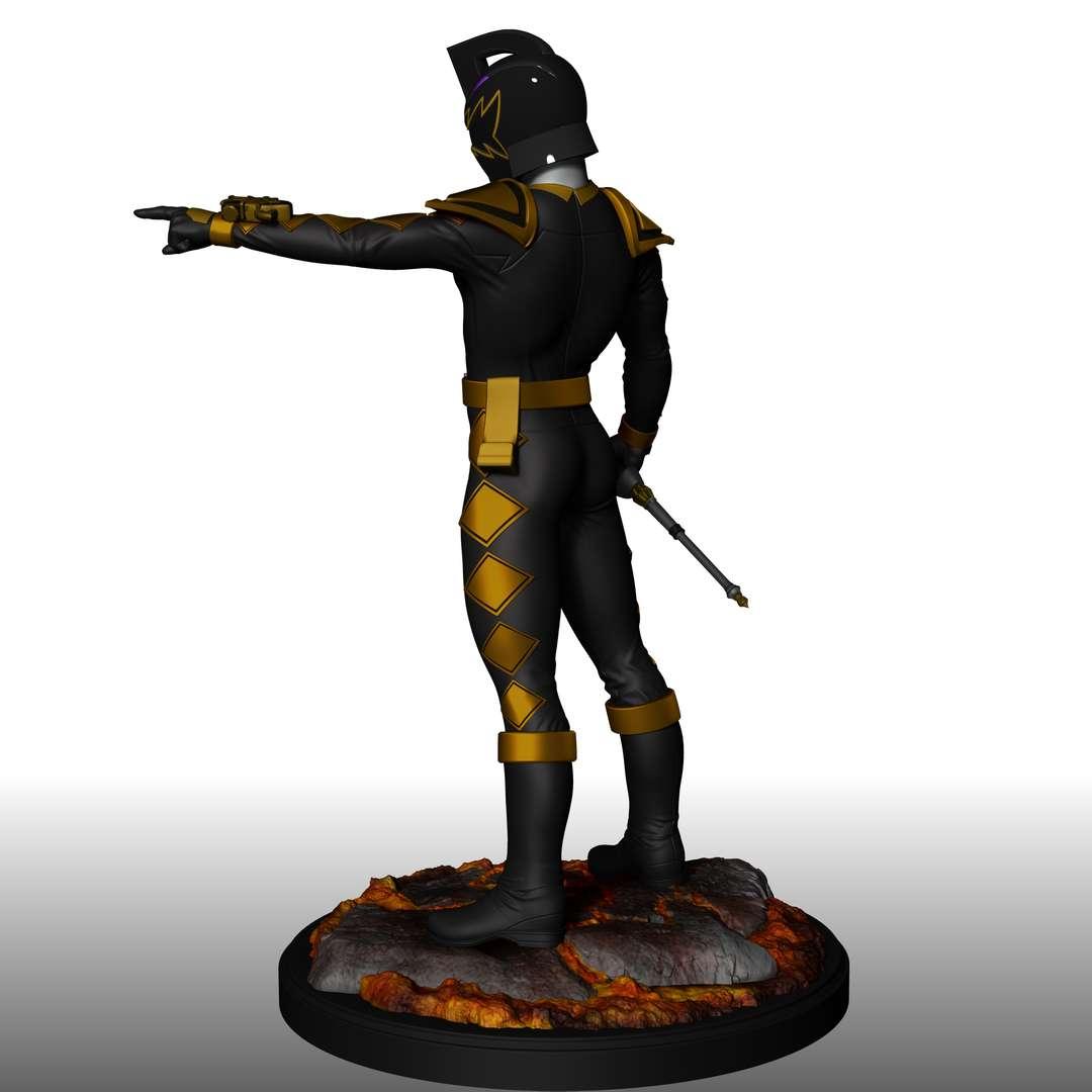 Black DINO THUNDER Ranger - 1/8 scale character It has 17 pieces, ready for printing! - Los mejores archivos para impresión 3D del mundo. Modelos Stl divididos en partes para facilitar la impresión 3D. Todo tipo de personajes, decoración, cosplay, prótesis, piezas. Calidad en impresión 3D. Modelos 3D asequibles. Bajo costo. Compras colectivas de archivos 3D.