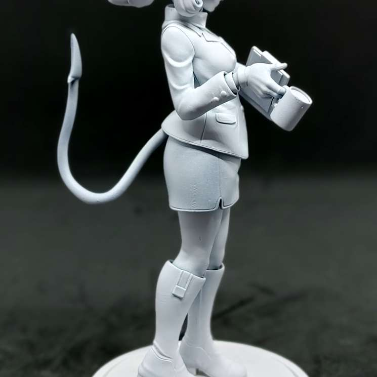 Helltaker Pandemonica - Helltaker Pandemonica stl  - The best files for 3D printing in the world. Stl models divided into parts to facilitate 3D printing. All kinds of characters, decoration, cosplay, prosthetics, pieces. Quality in 3D printing. Affordable 3D models. Low cost. Collective purchases of 3D files.