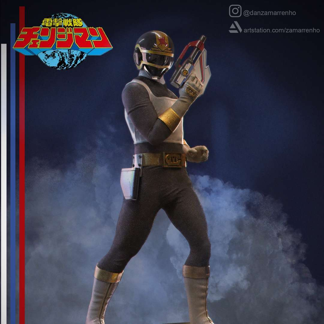 Change Griffon  - Changeman - Change Griffon - Dengeki Sentai Chageman Estou disponibilizando 2 escalas para impressao: 1:6 e 1:8, fique atento no momento de imprimir para imprimir a versao correta, que está identificada com 1-6 ou 1-8 no nome do arquivo I am providing 2 printing scales: 1:6 and 1:8, be careful when printing to print the correct version, which is identified with 1-6 or 1-8 in the filename  Mais imagens no meu Instagram ou Artstation, incluindo imagens da versao impressa More images on my instagram or artstation, including images from the printed version Instagram: https://www.instagram.com/danzamarrenho/  Artstation: https://www.artstation.com/zamarrenho  Em breve todos os outros Changemans Other Changeman soon! - The best files for 3D printing in the world. Stl models divided into parts to facilitate 3D printing. All kinds of characters, decoration, cosplay, prosthetics, pieces. Quality in 3D printing. Affordable 3D models. Low cost. Collective purchases of 3D files.