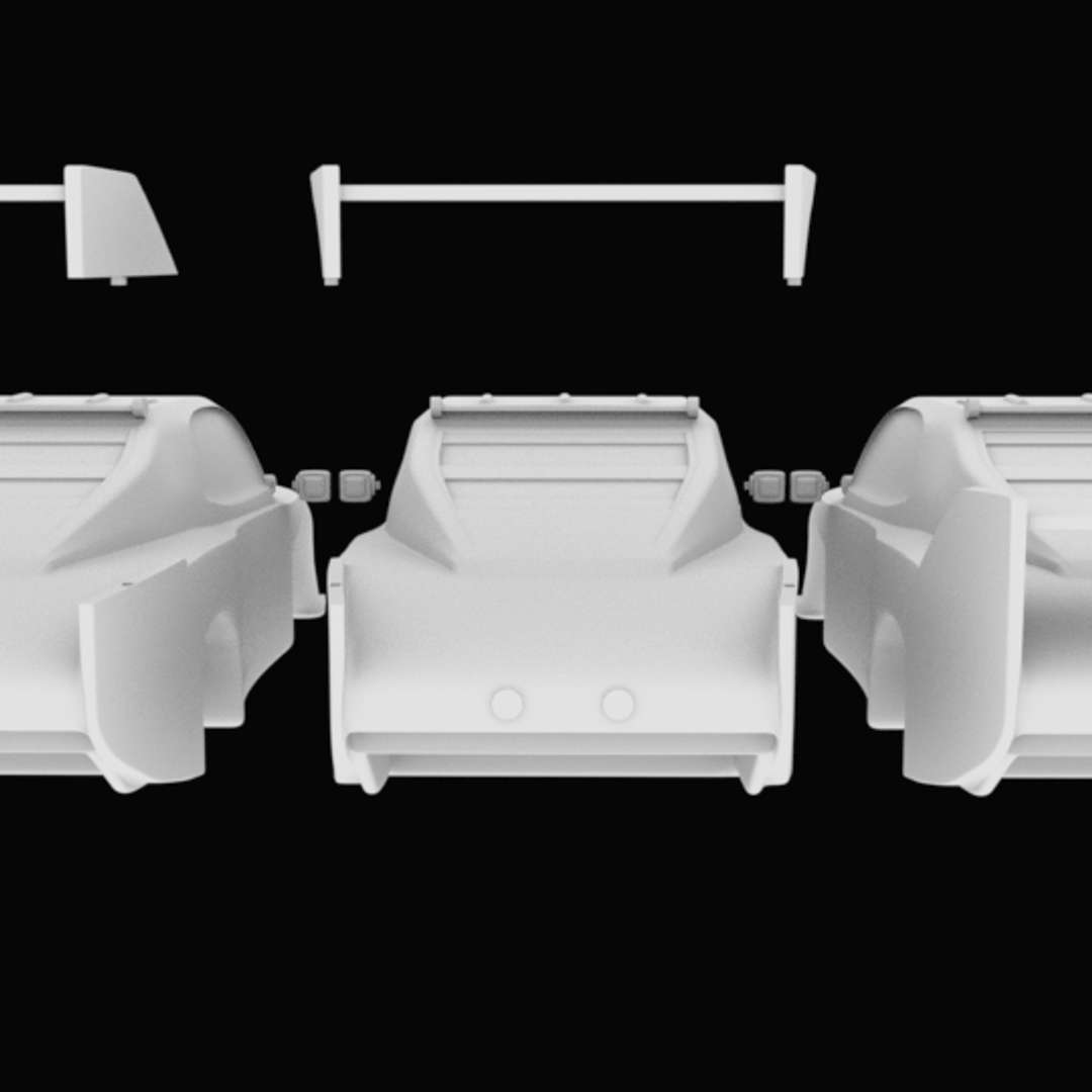 Chevrolet car with separated parts STL for 3D printing  - 7 .stl files for printing  Extract the files with Winrar or 7zip - Los mejores archivos para impresión 3D del mundo. Modelos Stl divididos en partes para facilitar la impresión 3D. Todo tipo de personajes, decoración, cosplay, prótesis, piezas. Calidad en impresión 3D. Modelos 3D asequibles. Bajo costo. Compras colectivas de archivos 3D.