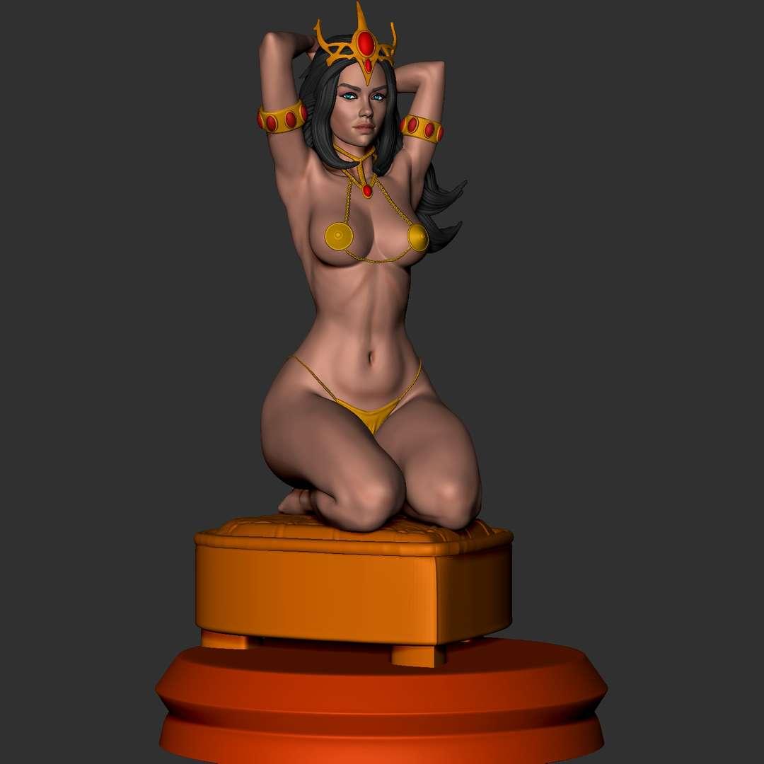 Dejah_Thoris - miniature stl - Os melhores arquivos para impressão 3D do mundo. Modelos stl divididos em partes para facilitar a impressão 3D. Todos os tipos de personagens, decoração, cosplay, próteses, peças. Qualidade na impressão 3D. Modelos 3D com preço acessível. Baixo custo. Compras coletivas de arquivos 3D.