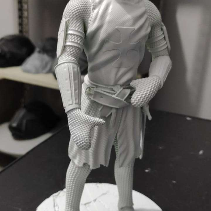 templar - templar model. model cut and with pins to facilitate printing.  - The best files for 3D printing in the world. Stl models divided into parts to facilitate 3D printing. All kinds of characters, decoration, cosplay, prosthetics, pieces. Quality in 3D printing. Affordable 3D models. Low cost. Collective purchases of 3D files.