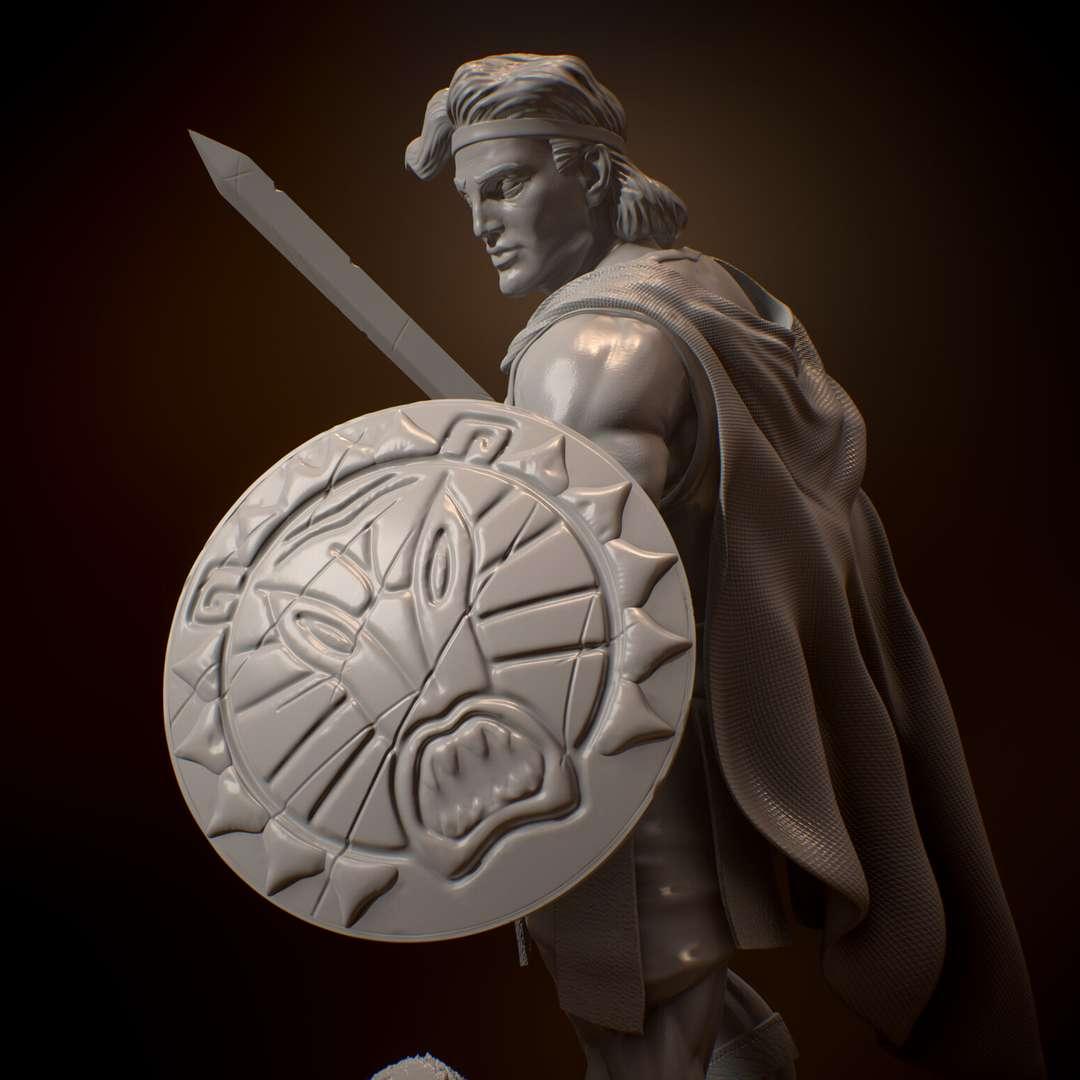 Disney Hércules - From the classic Hércules disney movie, realistic style.  O heroi da mitologia grega, semi Deus, Hercules, também conhecido como Hérecles. - Os melhores arquivos para impressão 3D do mundo. Modelos stl divididos em partes para facilitar a impressão 3D. Todos os tipos de personagens, decoração, cosplay, próteses, peças. Qualidade na impressão 3D. Modelos 3D com preço acessível. Baixo custo. Compras coletivas de arquivos 3D.