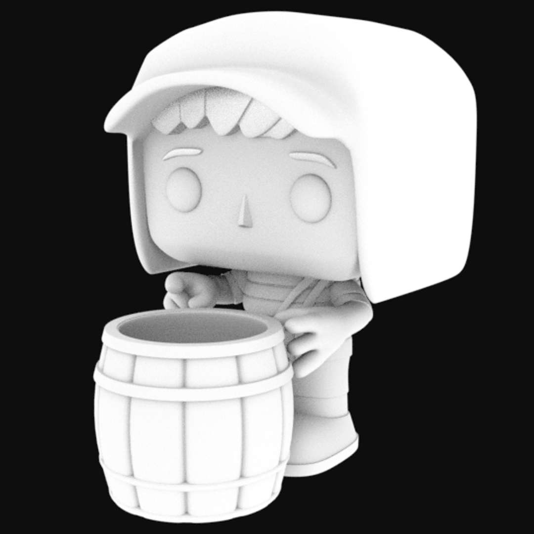 El Chavo Del Ocho STL 3D printing - El Chavo del Ocho (The Chavez of the 8) is a Mexican television series created, scripted, directed and starring Roberto Gómez Bolaños (known as Chespirito), produced by Televisa and shown on Canal 2.    First shown on Canal 8, the script came from a sketch written by Bolaños, in which an eight-year-old child argued with a balloon vendor in a park (played by Ramón Valdés). Bolaños gave importance to the development of the characters, to whom distinct personalities were distributed - Os melhores arquivos para impressão 3D do mundo. Modelos stl divididos em partes para facilitar a impressão 3D. Todos os tipos de personagens, decoração, cosplay, próteses, peças. Qualidade na impressão 3D. Modelos 3D com preço acessível. Baixo custo. Compras coletivas de arquivos 3D.
